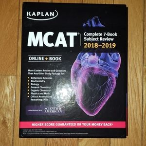 MCAT 2018-19 Review 7 Subject